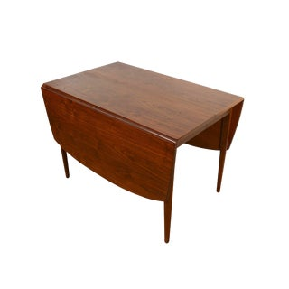 Drexel Declaration Walnut Drop-Leaf Table For Sale
