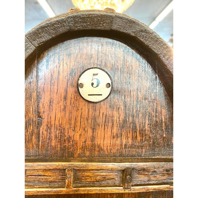 19th Century French Oak Cognac Barrel on Stand For Sale - Image 4 of 8