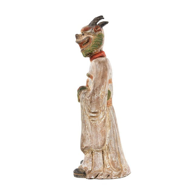 Antique Chinese Zodiac Dragon Figurine - Image 3 of 9