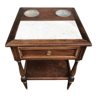 Vintage French Wine and Cheese Table For Sale