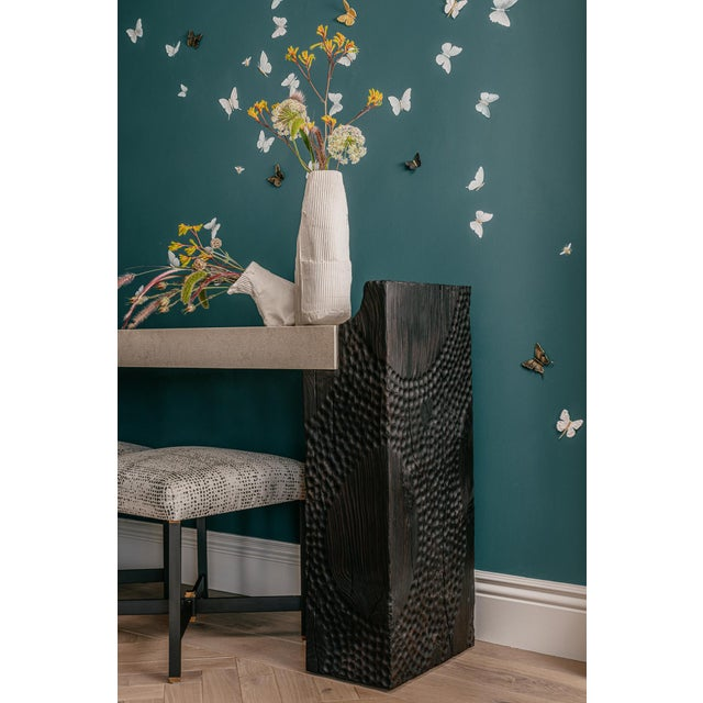 Modern Featured in The 2020 San Francisco Decorator Showcase — Aderyn Studio Phoenix Console Table For Sale - Image 3 of 4