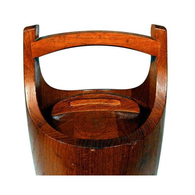Mid-Century Modern Jens Quistgaard Danish Ice Bucket for Dansk For Sale - Image 3 of 5
