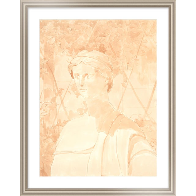 "Medium ""Shape of the Grape Vine"" Print by Michelle Farro, 26"" X 32"" For Sale"