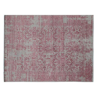 "Stark Studio Rugs Traditional Oriental Wool, Viscose and Cotton Rug - 9' X 12'1"" For Sale"