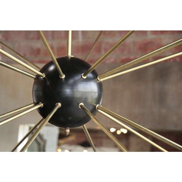 Oversized Italian Sputnik Light For Sale - Image 4 of 9