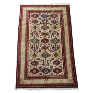 1940s Turkistan Khotan Hand-Knotted Rug-5′11″ × 11′1″ For Sale