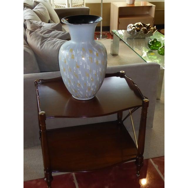 1950s Carstens Tonnieshof German Mid-Century Modern Floor Vase 1956 For Sale - Image 5 of 10