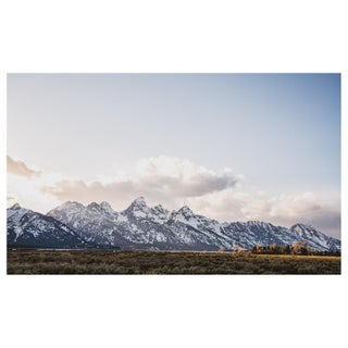 Sunset Over the Grand Tetons Photo, Framed For Sale