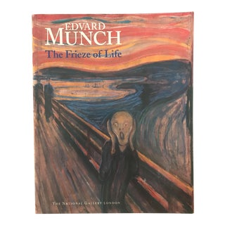 """""""Edvard Munch/National Gallery"""" 1992 First Edition Art/Exhibition Catalog For Sale"""