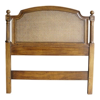 Henredon French Regency Twin Cane Headboard For Sale