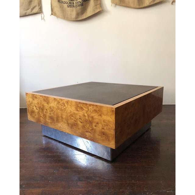 1970s 1970s Mid Century Modern Milo Baughman Floating Cube Coffee Table For Sale - Image 5 of 5