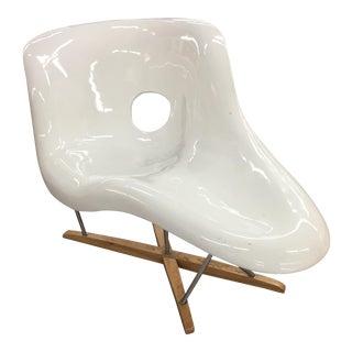 "Charles Eames ""La Chaise"" Fiberglass Chair"