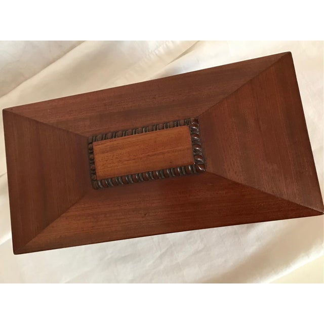 19th Century English Rosewood Tea Caddy For Sale - Image 9 of 11