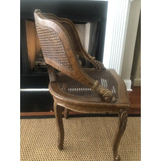 Contemporary Louis XV Carved Cane Barrel Chair Preview