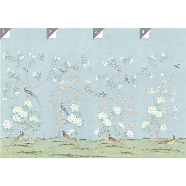 "Casa Cosima Casa Cosima Henri Spring Wallpaper Mural - 1 Panel 36"" W X 108"" H For Sale - Image 4 of 5"
