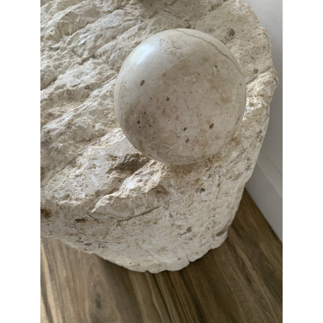 Late 20th Century Mactan Stone Side Tables - a Pair For Sale In Miami - Image 6 of 12