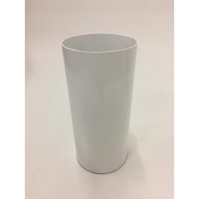 Fiberglass and Lucite Electrified Pedestal For Sale - Image 9 of 9