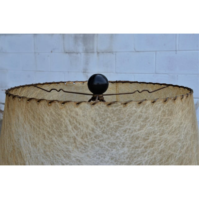 1950s Abstract Ceramic Table Lamp For Sale - Image 12 of 13