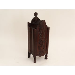 Diminutive French Carved Salt Box Table Cabinet Preview