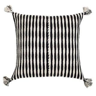 Black Striped Antigua Pillow