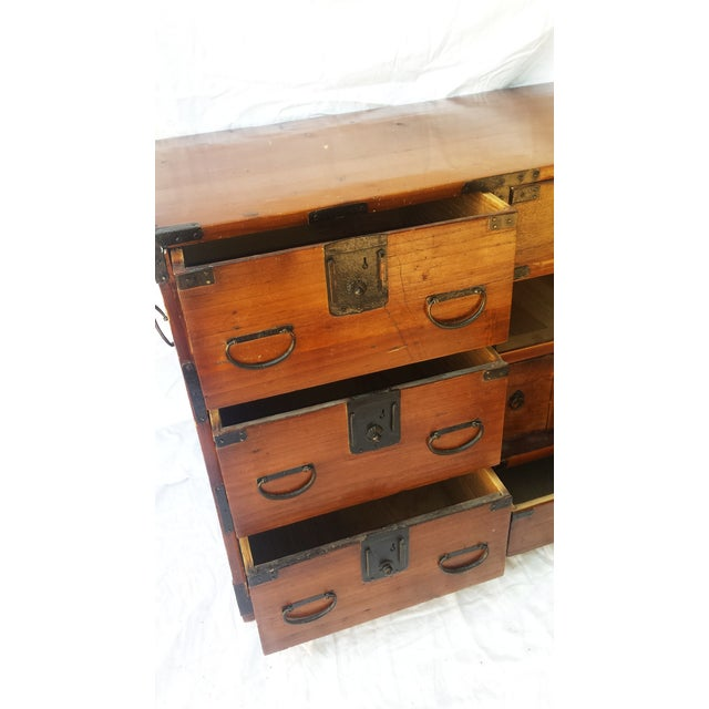 Korean Camphor Wood Cabinet - Image 10 of 11