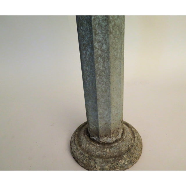 Traditional 1920's Sundial & Bird Bath For Sale - Image 3 of 5