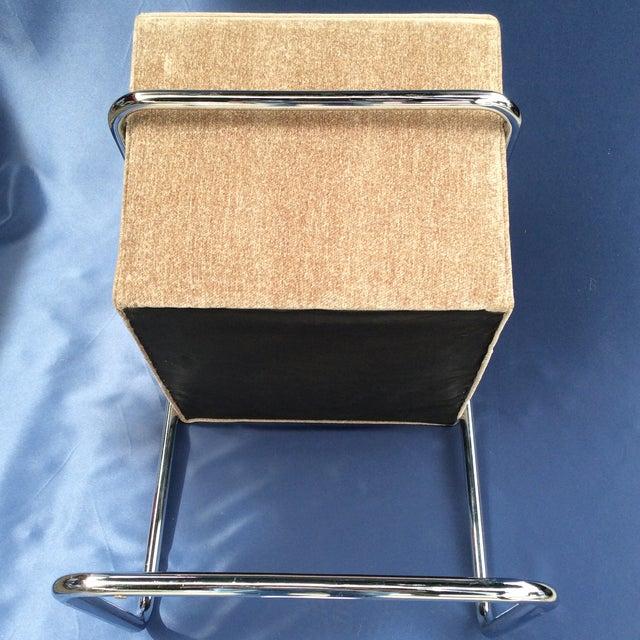 Ludwig Mies van der Rohe Tubular Modern Brno Chair by Knoll For Sale - Image 4 of 6