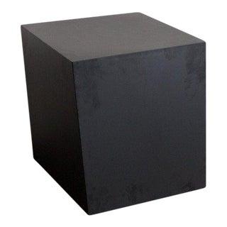 Mid-Century Modern Black Steel TGM Volume Cube For Sale