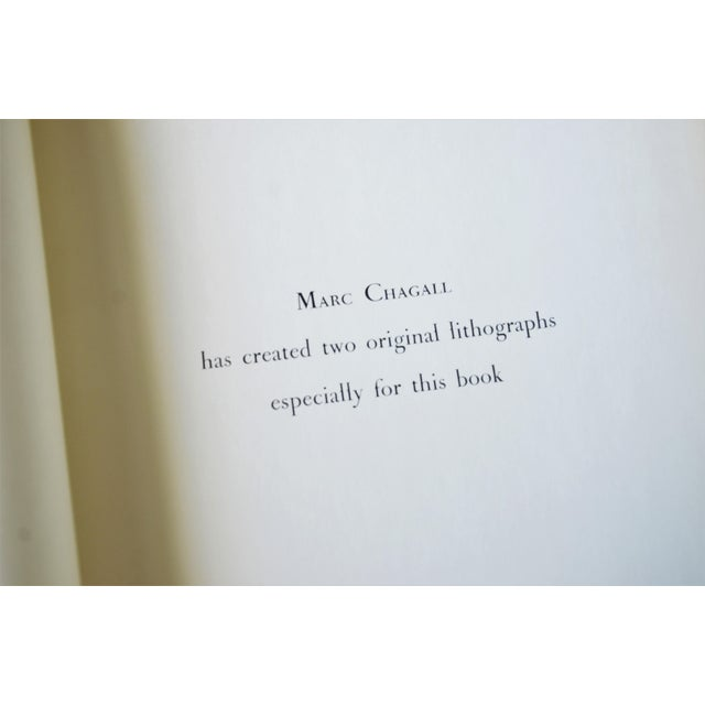 Mid-Century Modern Marc Chagall the Jerusalem Windows Hardback First Edition Book For Sale - Image 3 of 12