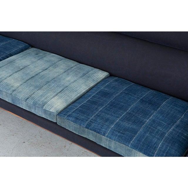 Cotton Dux Sofa For Sale - Image 7 of 11