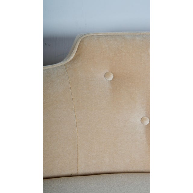 Brass Oasis Sofa by Wormley for Dunbar For Sale - Image 7 of 13