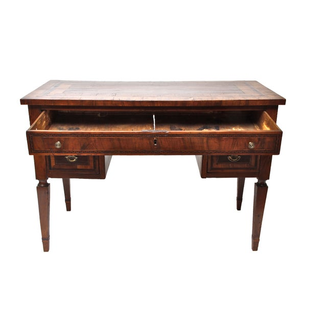 Italian 18th Century Italian Partner's Desk For Sale - Image 3 of 9