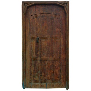 Antique Moroccan Mia Two-Tone Door For Sale