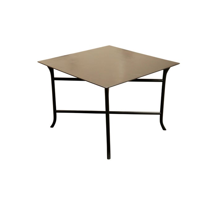 1970s 1970s Mid Century Modern Widdicomb Coffee Table With Skinny Legs Crossing For Sale - Image 5 of 7