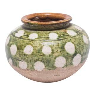 Petite Sancai Chinese Ceramic Jar For Sale