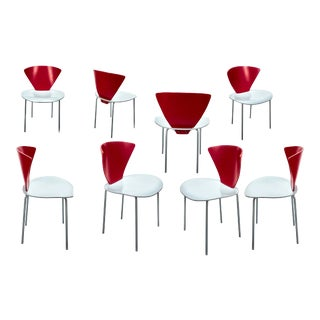 Post Modern Dining Chairs - Set of 6 For Sale