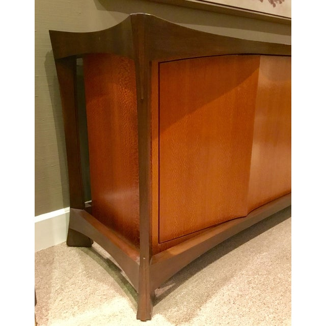 Sculptural 2-Toned Sideboard For Sale - Image 9 of 9