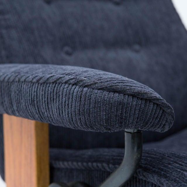 Mid-Century Modern Vintage Teak Ekornes Chair and Ottoman For Sale - Image 3 of 11