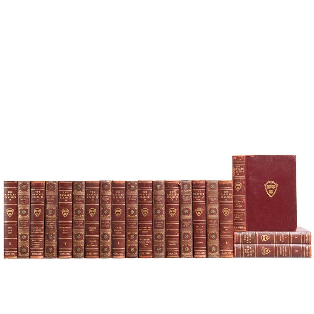 Garnet & Gilt Harvard Classics - Set of 20 - Image 2 of 2