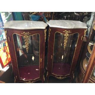 Pair Louis XV Style Display Cabinets Preview