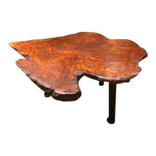 Organic Burled Maple Hand Made Coffee Table