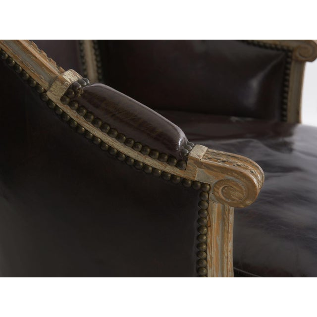 "French Louis XVI Antique ""Duchesse Brisée"" Chaise Lounge, 19th Century For Sale - Image 12 of 13"