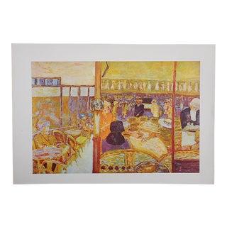 Vintage Bonnard Lithograph For Sale