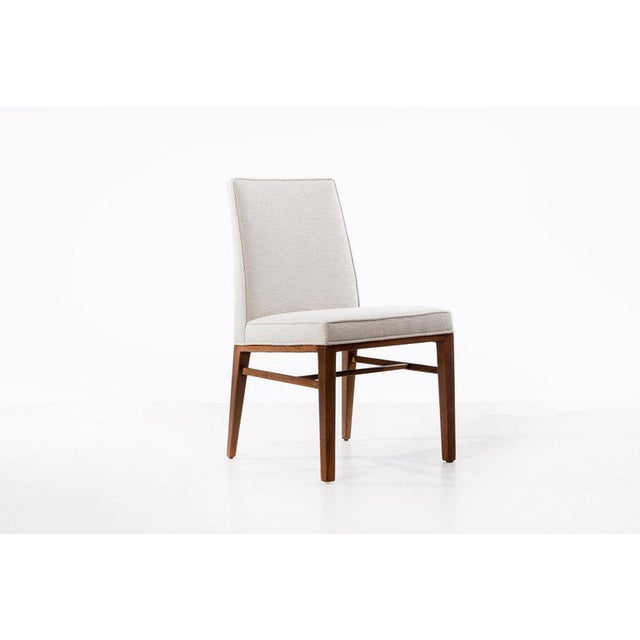 Mid-Century Modern Edward Wormley Set of Six Dining Chairs For Sale - Image 3 of 13