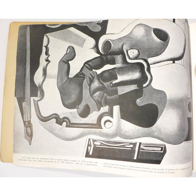 Paper Le Corbusier Book with Inscription For Sale - Image 7 of 10