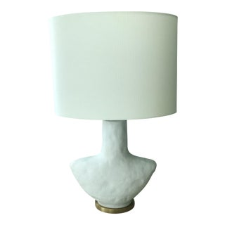 Armato Porous White Table Lamp-Sold Individually/ 2 Available For Sale