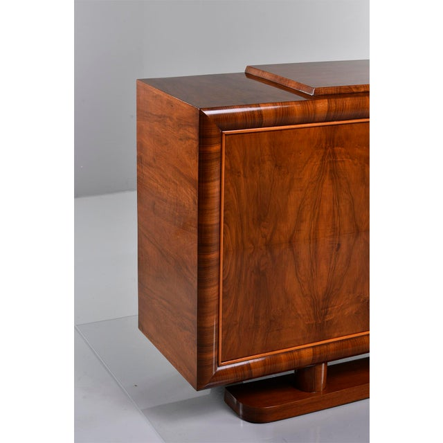 Art Deco French Art Deco Walnut Sideboard For Sale - Image 3 of 13
