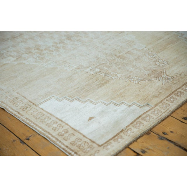 """Vintage Distressed Oushak Rug - 4'10"""" X 7'8"""" For Sale In New York - Image 6 of 12"""