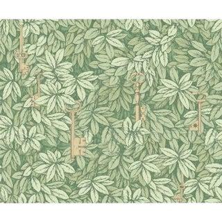Cole & Son Chiavi Segrete Wallpaper Roll - Olive For Sale