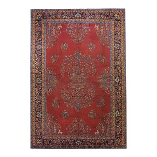 Early 20th Century Turkish Sparta Rug For Sale